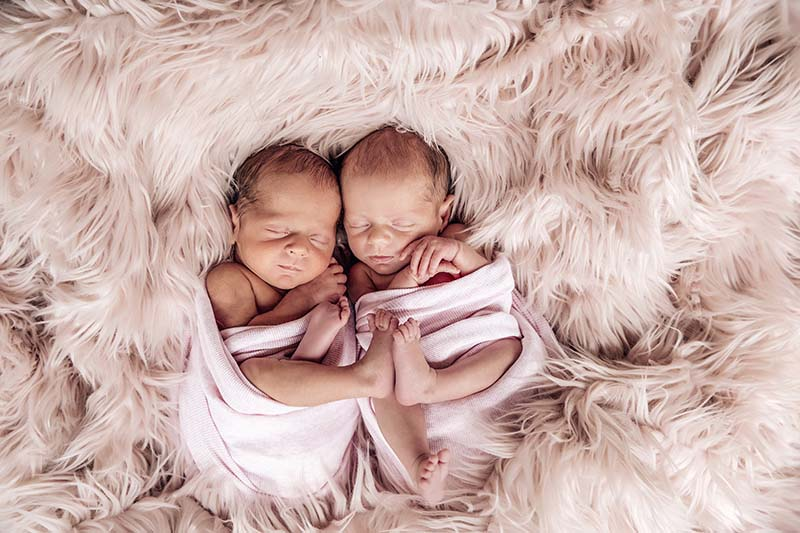 Baby twin photographer Sunshine Coast